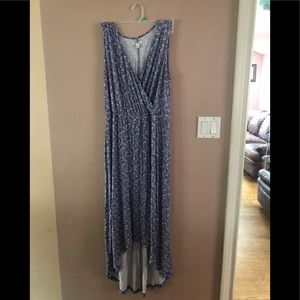 Old Navy Plus Size High Low Maxi Dress 2X